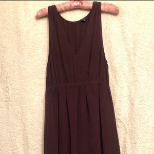 T. Babaton deep purple dress
